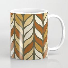 Boho Chic Retro Weave Coffee Mug