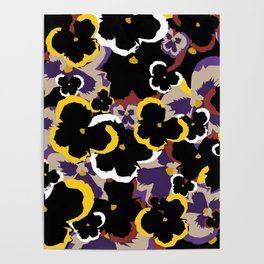 Pansy Love Poster