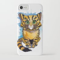 kitten iPhone & iPod Cases featuring Kitten by SilviaGancheva