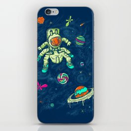 Antronaut And The Sugar Galaxy iPhone Skin