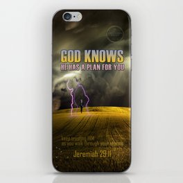Jeremiah 29:11 iPhone Skin