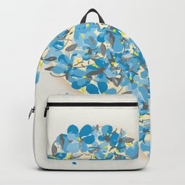 forget-me-nots heart Backpack