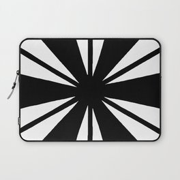 Black and White Bam Laptop Sleeve