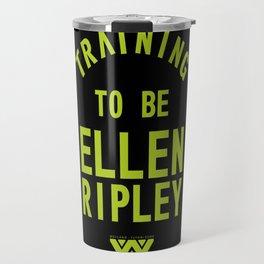 Training to be Ellen Ripley (Black) Travel Mug