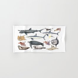 Marine wildlife Hand & Bath Towel