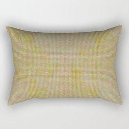 Ochre Antiquary Rectangular Pillow