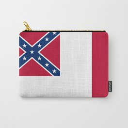 Bloodstained Banner Of The Confederacy Carry-All Pouch