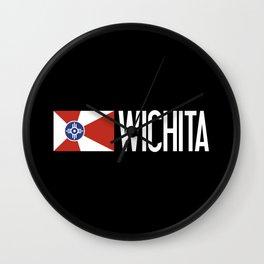 Wichita: Wichitan Flag & Wichita Wall Clock