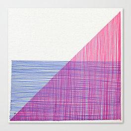 Line Art 2 Canvas Print