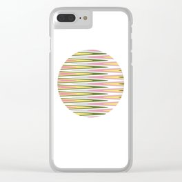 Waves of Color Clear iPhone Case