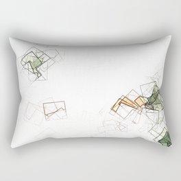 square fantasy landslides Rectangular Pillow