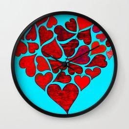Valentines at Tiffanys Wall Clock