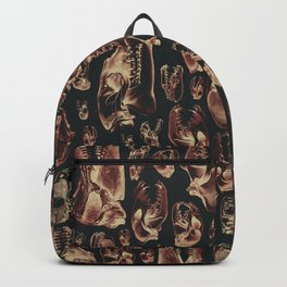 Carnivore RED MEAT / Animal skull illustrations from the top of the food chain Backpack