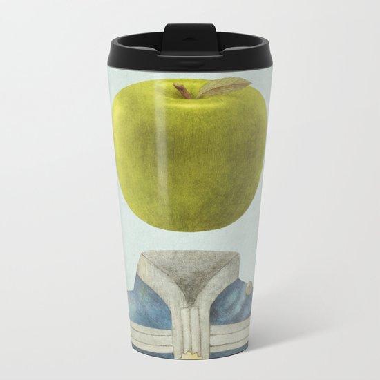 Sgt. Apple  Metal Travel Mug