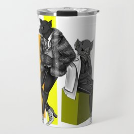 Bat Boys of High Fashion Travel Mug