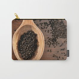 Black Nigella Sativa dry seeds portion Carry-All Pouch