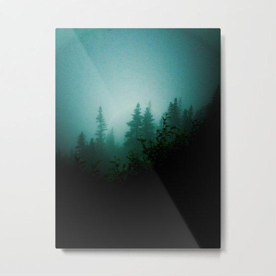 Dark as Night Metal Print