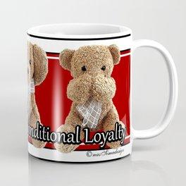 True Friendship is Unconditional Loyalty - Red Coffee Mug