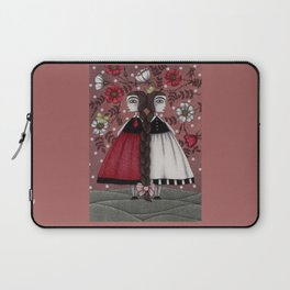Snow-White and Rose-Red (1) Laptop Sleeve