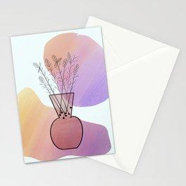 Botanical Vase Stationery Cards