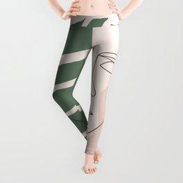 Tropical Woman Leggings