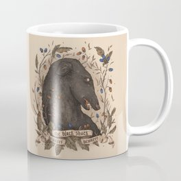 Beware, the Black Shuck Coffee Mug