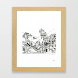 Urbanscape Framed Art Print