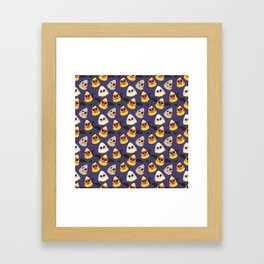 Corny Framed Art Print
