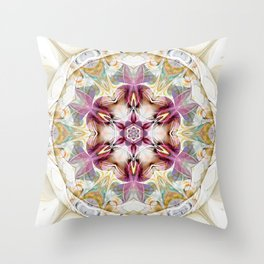 Mandalas from the Heart of Change 7 Throw Pillow