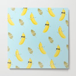 Crazy bananas Metal Print
