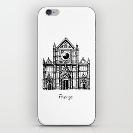 Florence cathedral of Santa Maria del Fiore iPhone Skin