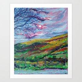 Brecon Beacons Art Print