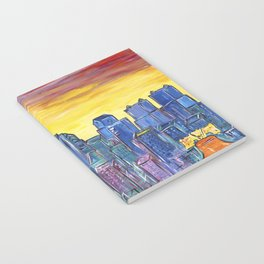 Philadelphia Skyline Notebook