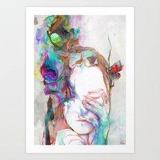 Falling In Art Print