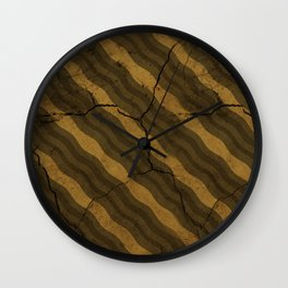 Vintage Fossil Bacon Wall Clock