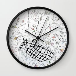The bagpipes Wall Clock