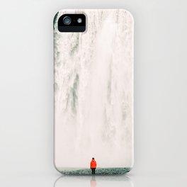 Iceland - Skógafoss (Leica M3 & Kodak film) iPhone Case
