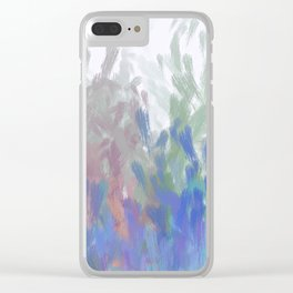 Willow Wisp Clear iPhone Case
