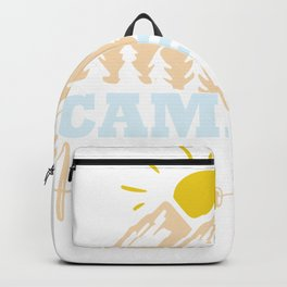 New Camping Camping Hair Don't Care Backpack