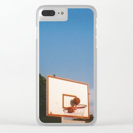 Hoops! Clear iPhone Case