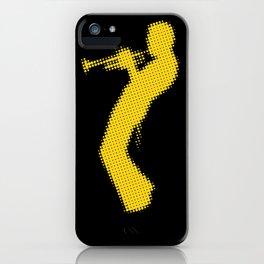 Davis Halftones iPhone Case