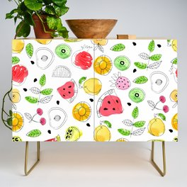 Pop of Fruit Collection I Credenza