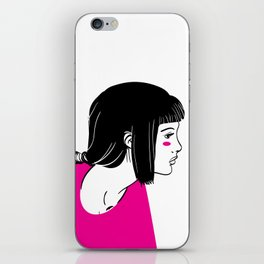 Girl 1 iPhone Skin