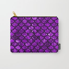 Violet Dragon Scales Carry-All Pouch