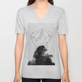 Its better to disappear. Unisex V-Neck