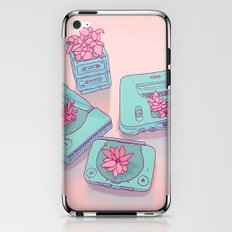 Flowers & Consoles iPhone & iPod Skin