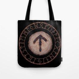 Tiwaz - Elder Futhark rune Tote Bag
