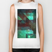 discount Biker Tanks featuring Emerald Nebulæ  by Aaron Carberry