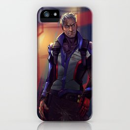 Respect the Man, Not the Rank iPhone Case