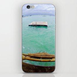 Boracay raft iPhone Skin